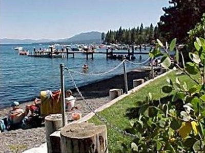 Tahoe Park Beach Association-Beach, BBQs, Grass, Playstructure, horse shoes.....