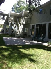 Palatka house photo - Relax on our back porch 2 level.