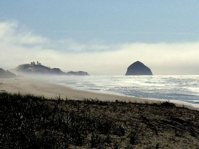 Haystack Rock, Pacific City - 8 mile stretch of quiet, pristine beach