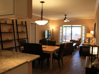 Open Floor Plan And Dining Area