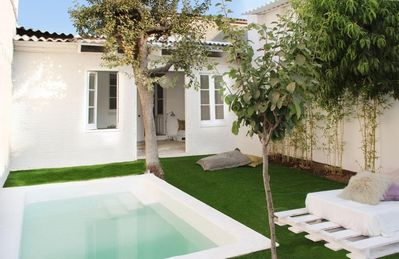 House in Barcelona with Internet, Pool, Air conditioning, Terrace (411880)