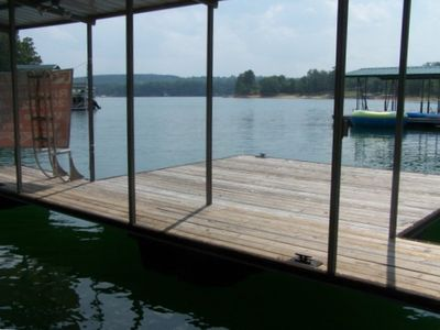 Private Boat Dock with Swim Pier, Boat Slip and Fabulous Views of Lewis Smith