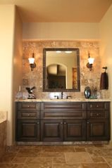 Fountain Hills house photo - One of 2 His/Her's bathroom counter/sink areas in master suite