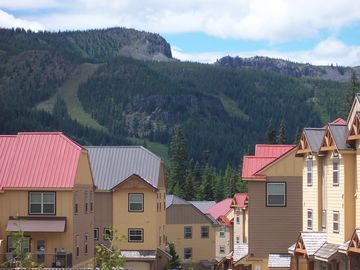 View of Ski Slopes, hiking trails and Adventure Park