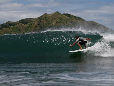 Costa Rica is fantastic for surfing