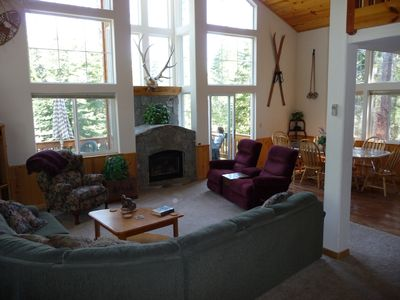 Tahoe Donner house rental - Great room