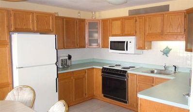 Oversized Kitchen! Stove, fridge and dishwasher have since been updated (2012)
