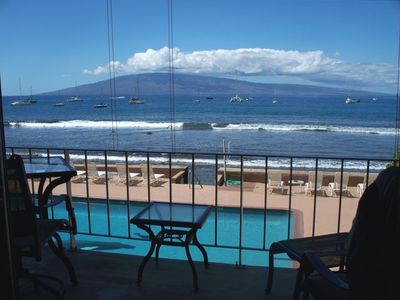 This is the view from the lanai - what we call spectacular!