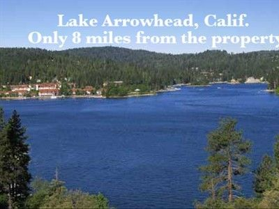 Lake Arrowhead Village only 8 miles from the house