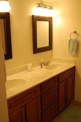 Daytona Beach condo photo - Twin Sinks in the Master Bath with another dressing area for the ladies