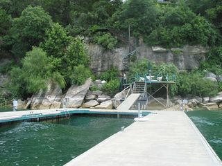 Hudson Bend house photo - Private dock available for Lake Travis Lodge renters. approx. 5-10 minutes away.
