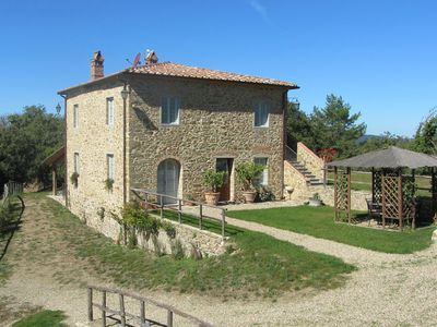 Peaceful estate between Siena, Arezzo and Florence. Wifi, pool, sauna, play area