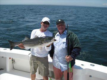 NICE CHATHAM STRIPER!!! 1 of 8 that day last summer!!! This could be you!