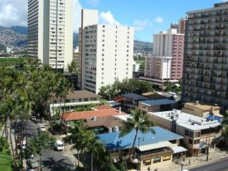 Waikiki condo photo - ...mountain view to....