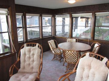 Sun Room...extra seating for lunch or to play cards