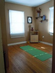 Lake Worth house photo - Murphy bed goes up to make space! Perfect for yoga or workout!