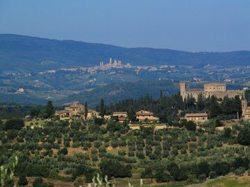 View on I Melograni del Chianti