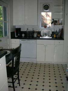 Kitchen - small but efficient and fully equipped with plenty of everything