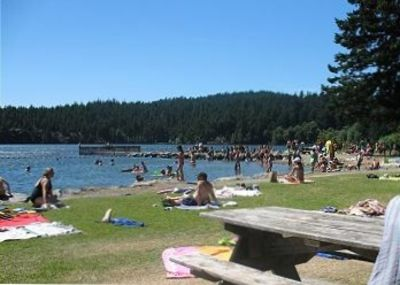 Relax, Swim or Boat at Cascade Lake in Moran State Park- a short 1.5 miles away