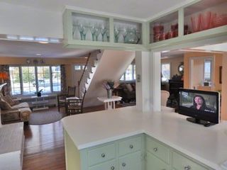 Vineyard Haven house photo - Kitchen Opens Out to Living Areas & Dining Room