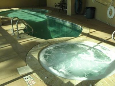 Indoor Heated Pool & Hot Tub