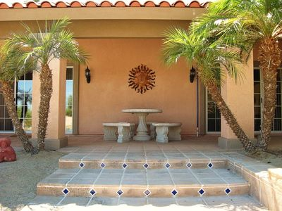 Casita Entry from Courtyard.