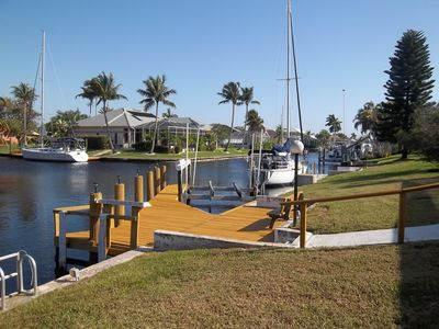 Cape Coral house rental - CANAL