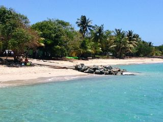 Vieques Island villa photo - The beach and Malecon of Esperanza is less than a mile west of our Casita