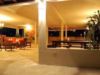 Runaway Bay villa photo - events lounge: 50 seat dining, bar, lounge, fabulous views