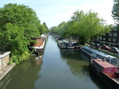 The Grand Canal (150 metres from the house)