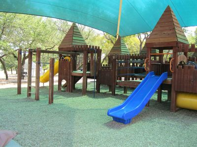 Neighborhood Park Features This Playscape