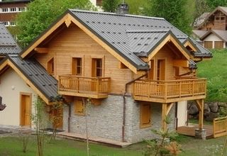 Holiday house, 130 square meters