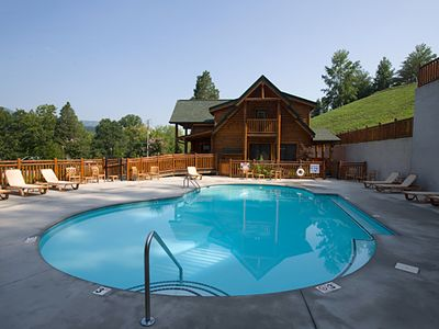 Pigeon Forge cabin rental - Resort Pool (closed for the Winter)