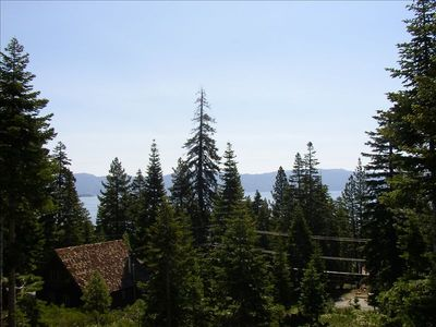 Tahoe City house rental - Deck View