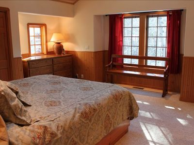 Alpine Meadows chalet rental - Master Bedroom