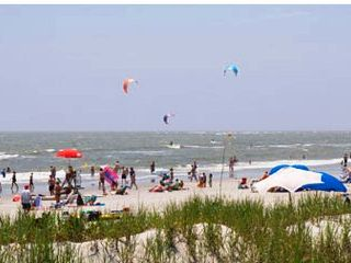 Summer days on Folly! - Folly Beach condo vacation rental photo