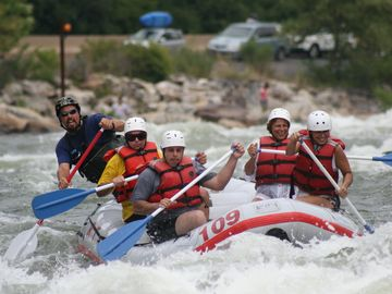 White Water rafting fun :)