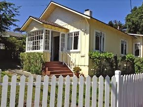"Pacific Grove cottage rental - Welcome to ""The Yellow Cottage-by-the-Sea""! Quaint vintage cottage with a nautical and seashore theme. In a quiet neighborhood centrally located to everything."