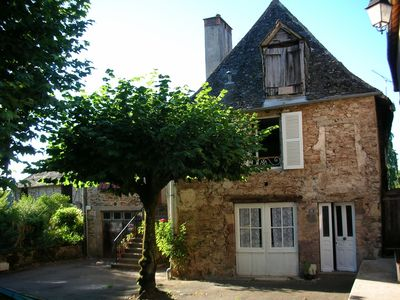 Village House In Quiet Square With Large Secluded Garden