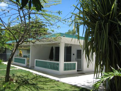 Rincon house rental - Casa Serena - On the Best Swimming Beach in Rincon