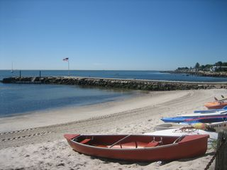 Private Beach with Boat Dock - Niantic house vacation rental photo