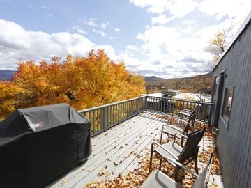 Warren condo rental - Deck View