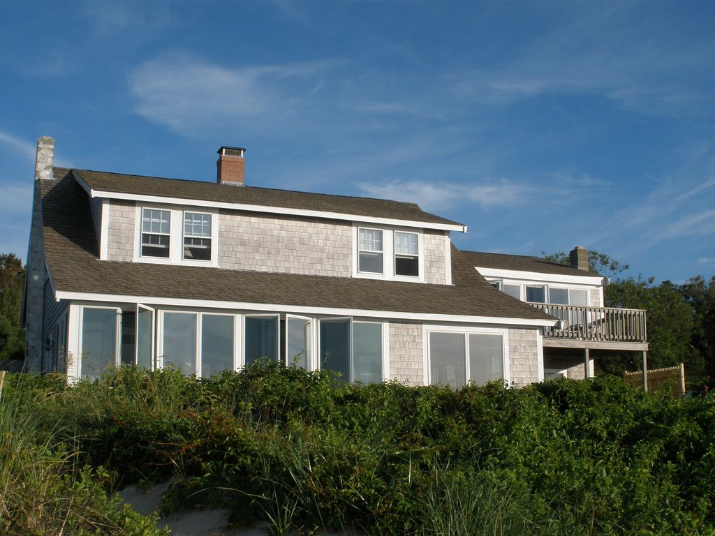 Waterfront Beach House Directly On Cape Cod Bay Vrbo