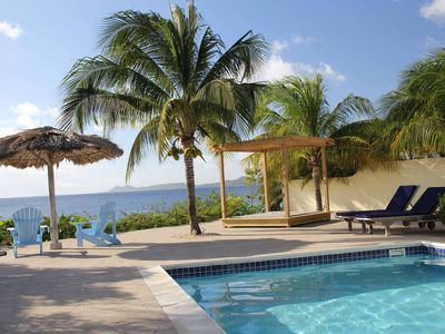 image for Luxury ocean front villa Bonaire with private pool and own dive reef