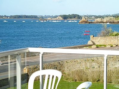 Bay of Perros Guirec, Bréhat, in PortBlanc, T3,70m2, Wifi, EXCEPTIONAL SEA VIEW