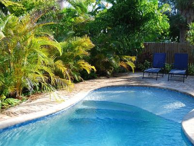 Enjoy your private pool with room for dining or entertaining or just relaxing!