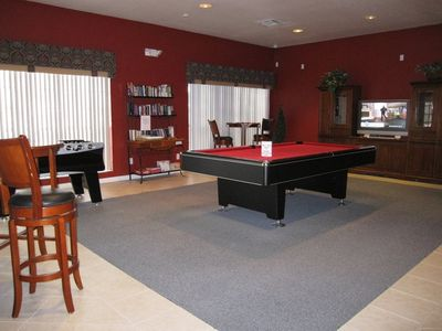 Resort Clubhouse Games Room