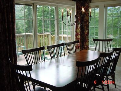 Stowe townhome rental - Dining