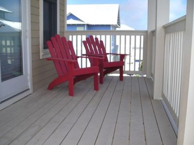 Your adirondack chair to relax in off the Master and think about the next visit