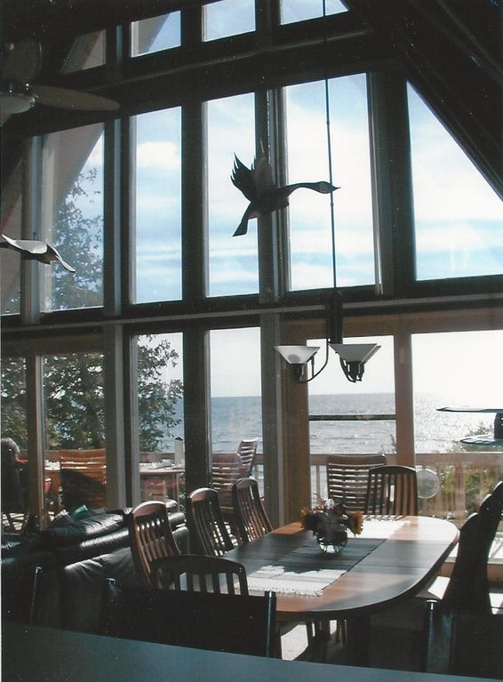 Dining Area with Lake View 1